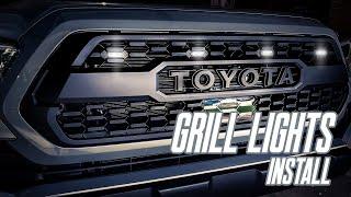 INSTALL: GRILL LIGHTS