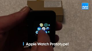 Check out this Apple Watch prototype