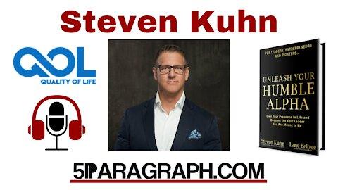Steven Kuhn - 5Paragraph Podcast