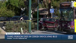 Three people dead after crash involving city bus at 7th Avenue and Missouri