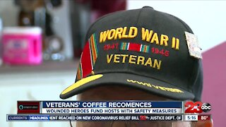 Wounded Heroes Fund Kicks Off First Veterans' Coffee Since The Pandemic