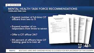 Overland Park mental health task force recommendations