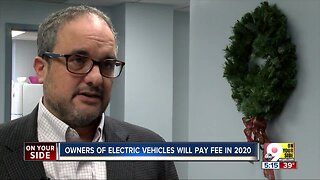In Ohio, owners of electric, hybrid vehicles will pay fee in 2020