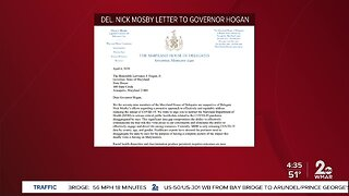 Del. Mosby calling for more COVID-19 information