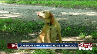 Claremore Family Raising Home After Flood