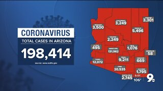 311 new cases of COVID-19 in Arizona