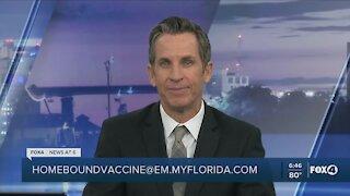 Vaccine access for homebound seniors
