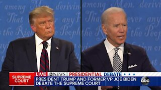 Full first presidential debate of 2020 between President Donald Trump and Joe Biden
