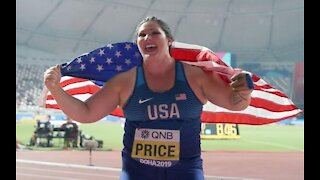 Patriotic US Olympian Breaks Hammer Throw Record at Olympic Trials