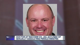 Macomb County Jail doctor charged with criminal sexual misconduct with inmates