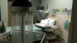 Germ-killing robot making rounds at Sarasota Memorial Hospital