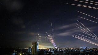 Hamas launches missiles at Israel | Anti-area defense intercepted the attack