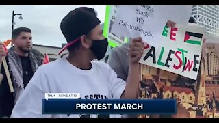 Hundreds show support for Palestine in Milwaukee rally Thursday