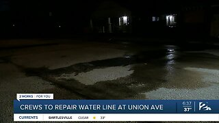Crews To Repair Water Line At Union Ave