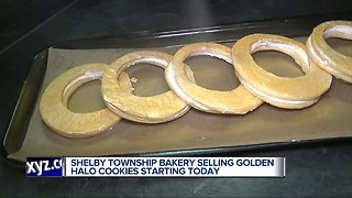 Shelby Township Bakery selling golden halo cookies starting Wednesday
