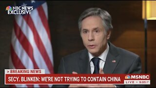 Biden Secretary of State Makes STUNNING Admission About Approach To China