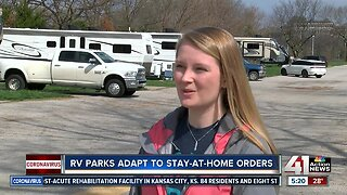 RV parks adapt to stay-at-home orders