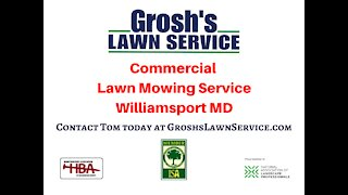 Commercial Lawn Mowing Service Williamsport MD Washington County Maryland