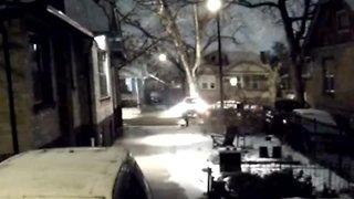 Surveillance video shows hit-and-run crash