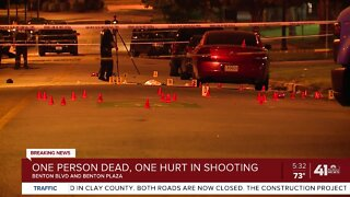 One person dead, one hurt in shooting
