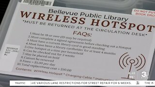 Bellevue Library offers hot spot internet kits