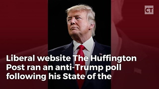 Huffpost Anti-trump Poll Backfires Badly