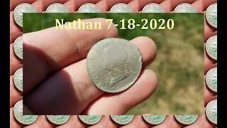 Metal Detecting at a Old Train Station Site