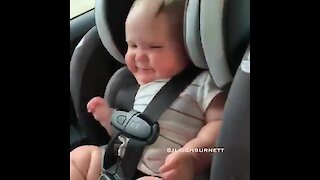 Baby Just Can't Stop Dancing To 'Old Town Road'