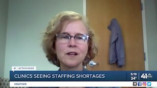 Clinics seeing staffing shortages