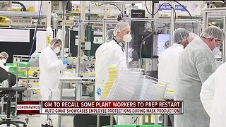 GM is getting plants ready to reopen with new safety measures