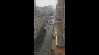 SOUTH AFRICA - Johannesburg - Taxi Protest (Z2y)