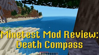 Minetest Mod Review: Death Compass
