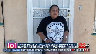 Family responds after birthday party shooting kills two