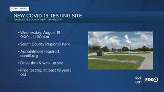 Charlotte County offers new coronavirus testing site