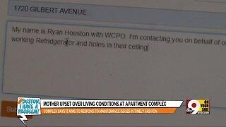 Houston, I Have a Problem: Apartment complex won't fix ceiling, broken fridge