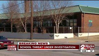 School threat under investigation