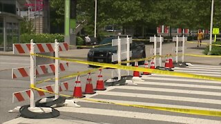 Lakeside Avenue near E. 6th remains closed Wednesday due to structural issue in tunnel below Huntington