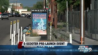 City of Tucson announces electric scooter launch and demonstration
