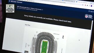 Packers season ticket holders upset after missing out on seats for NFC title game