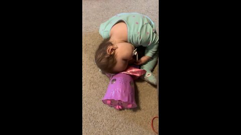 When Playing With Dolls Tires You Out