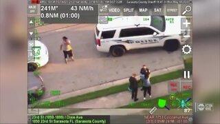 Sarasota police officer under investigation after kneeling on man's neck during arrest