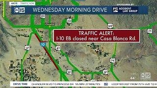 Deadly crash shuts down I-10 near Casa Blanca Road