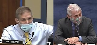 Furious Jim Jordan ATTACKS Dr. Fauci in Savage House Hearing