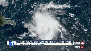 Puerto Rico prepares for Hurricane Dorian