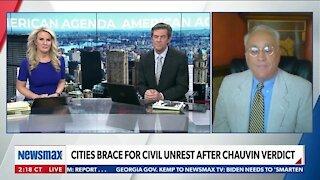 CITIES BRACE FOR CIVIL UNREST AFTER CHAUVIN VERDICT