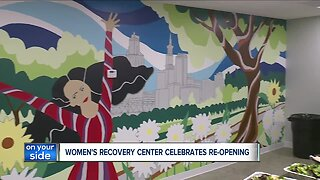 Women's recovery center celebrates re-opening