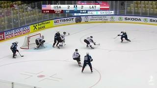 Dylan Larkin keeps producing as USA beats Latvia at World Championships
