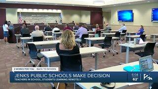 Jenks Public Schools make decision to start virtually