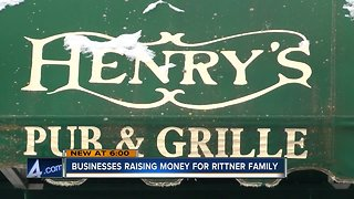 Local businesses raising money to benefit the Rittner family