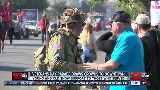 A look at the Veterans Day Parade